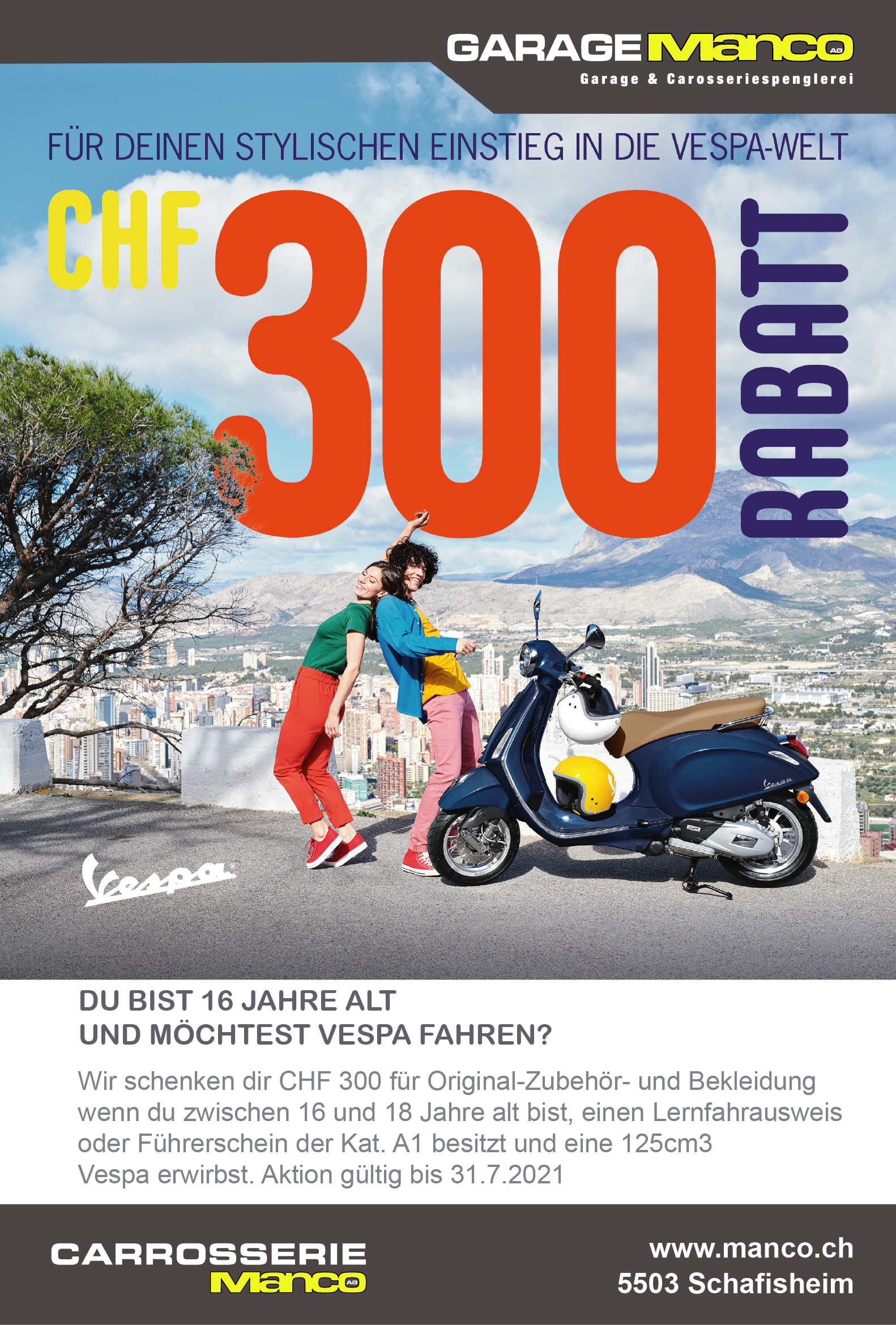 OFRAG_300CHF-Rabatt_IG-Banner_1080x1080px_Vespa_d